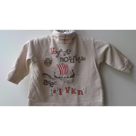 Top, tee shirt TOUT COMPTE FAIT Beige, camel