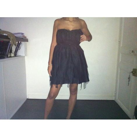 Robe bustier ASOS Noir