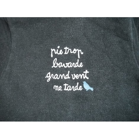 Pull JEAN BOURGET Gris, anthracite