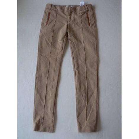 Pantalon MASSIMO DUTTI Beige, camel
