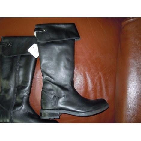Bottines & low boots plates ROBERTO CAVALLI Noir