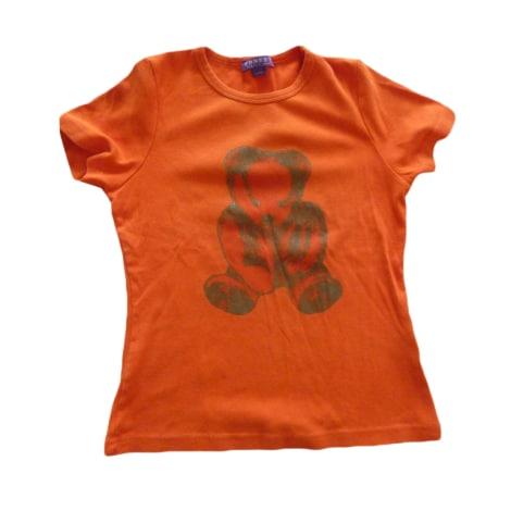Top, tee-shirt ERNEST LE GAMIN Orange