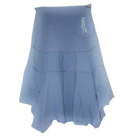 Jupe mi-longue FILLES A SUIVRE Bleu, bleu marine, bleu turquoise