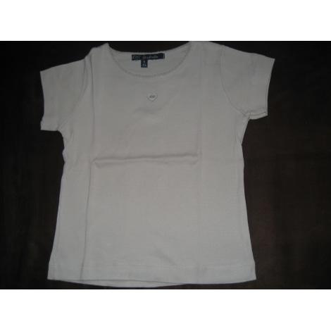 Top, Tee-shirt LILI GAUFRETTE Beige, camel