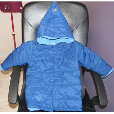 Parka ABSORBA Bleu, bleu marine, bleu turquoise