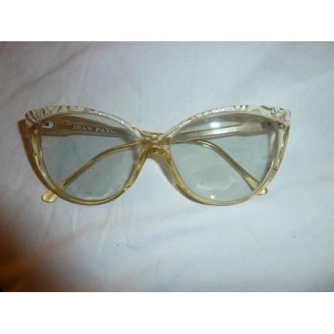 Monture de lunettes JEAN PATOU Jaune