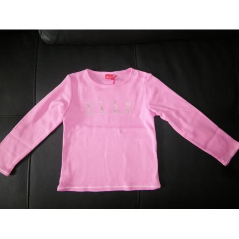 Top, Tee-shirt ELLE Rose, fuschia, vieux rose