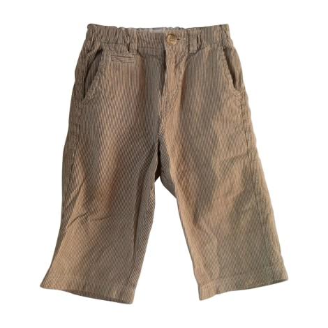 Pantalon BONPOINT Beige, camel