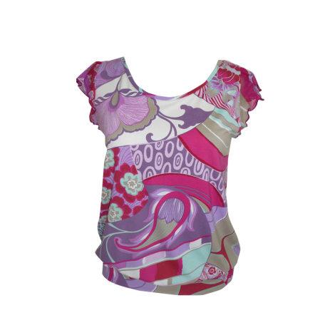 Top, tee-shirt CHACOK Violet, mauve, lavande