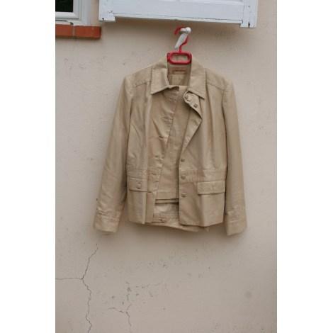 Tailleur pantalon ALAIN MANOUKIAN Doré, bronze, cuivre
