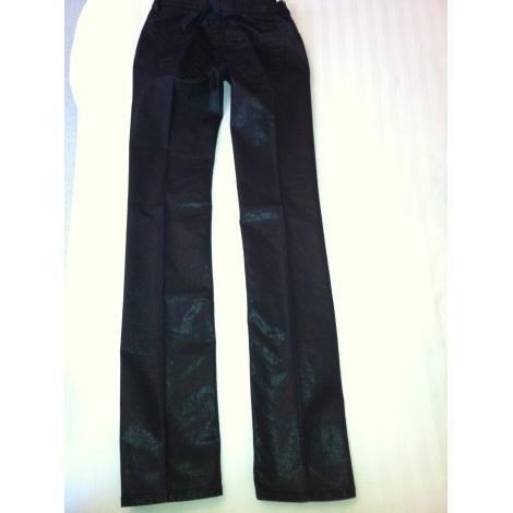 Jeans droit DIESEL Noir