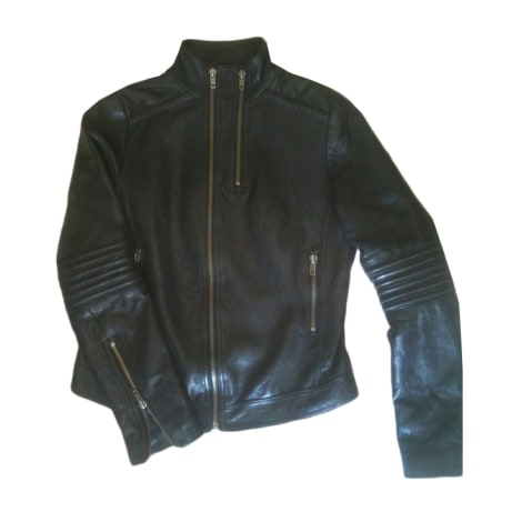 Blouson en cuir ZADIG & VOLTAIRE Noir