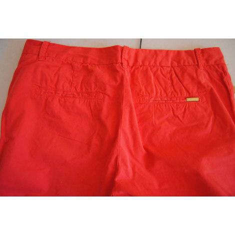 Pantalon carotte ZARA Orange
