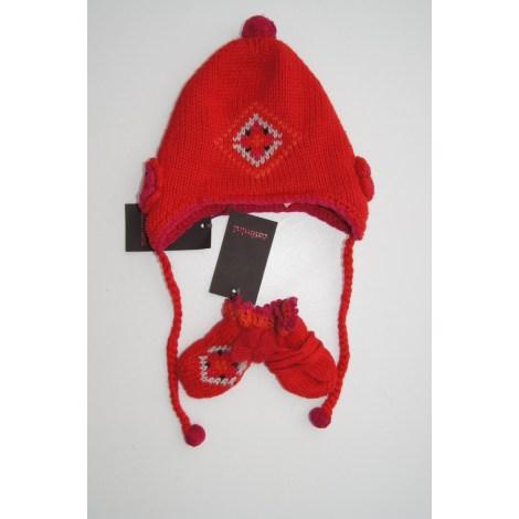 Bonnet CATIMINI Rouge, bordeaux