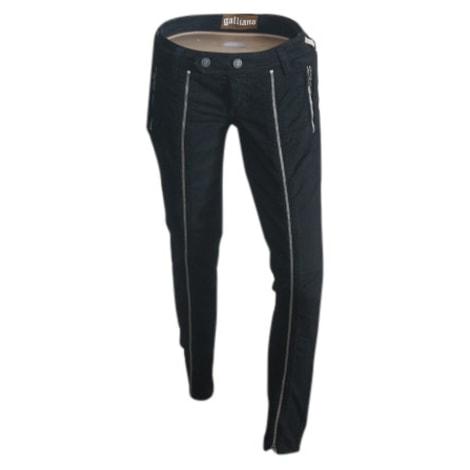 Jeans slim JOHN GALLIANO Noir