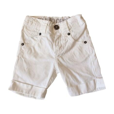Shorts ROBERTO CAVALLI White, off-white, ecru