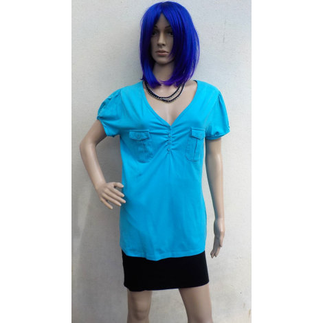 Top, tee-shirt RAINBOW COLLECTION Bleu, bleu marine, bleu turquoise