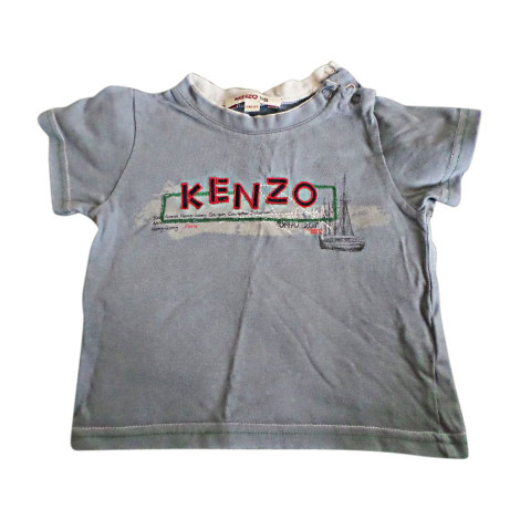 Top, tee shirt KENZO Bleu, bleu marine, bleu turquoise