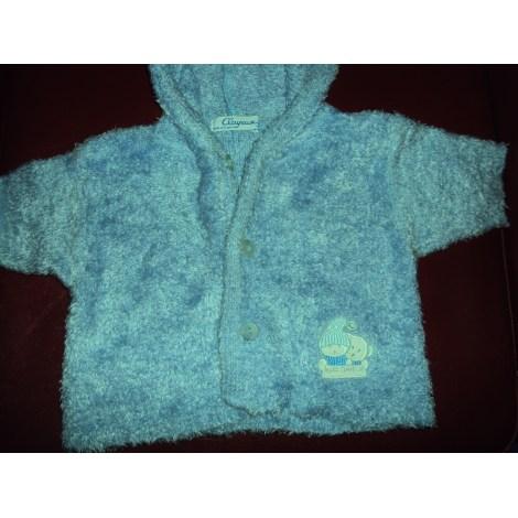 Gilet, cardigan CLAYEUX Bleu, bleu marine, bleu turquoise