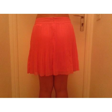 Jupe mi-longue CAMAIEU Orange