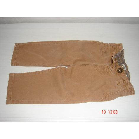 Pantalon IKKS Beige, camel