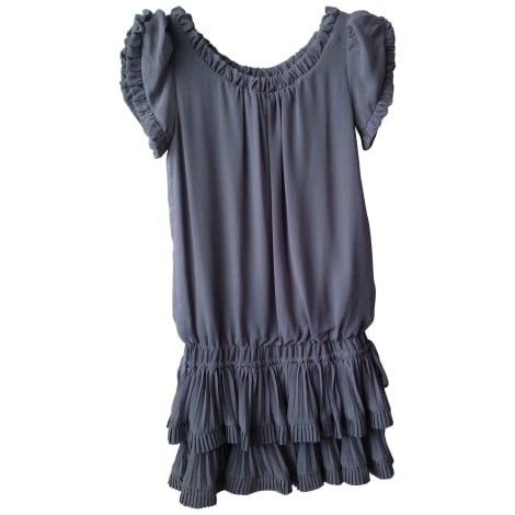 Robe courte MAX CHAOUL Gris, anthracite