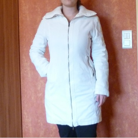 Manteau XANAKA Blanc, blanc cassé, écru