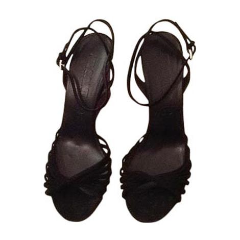 Sandales compensées JIL SANDER Noir
