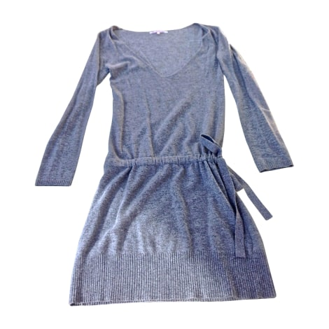 Robe pull BERENICE Gris, anthracite
