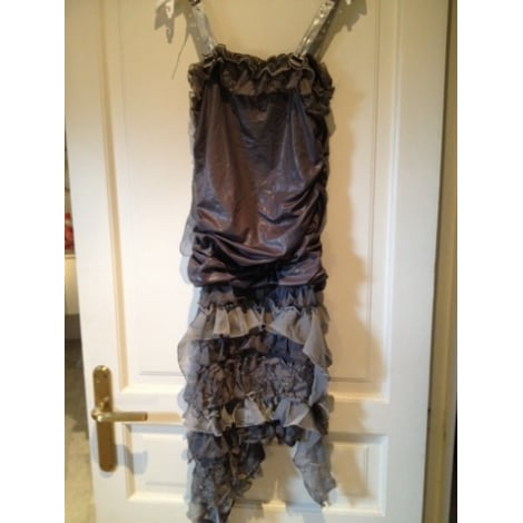 Robe bustier LM LULU Gris, anthracite
