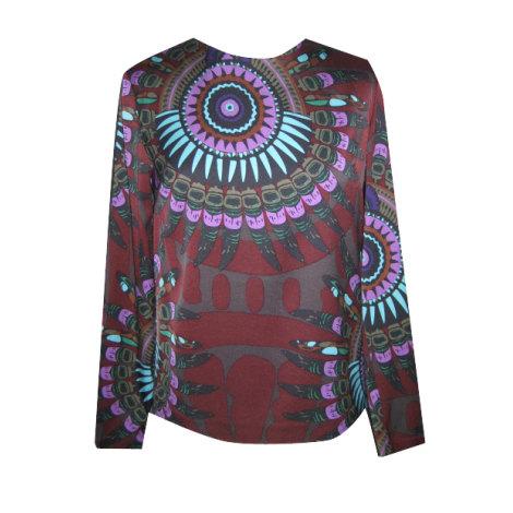 Top, tee-shirt ANTIK BATIK Rouge, bordeaux
