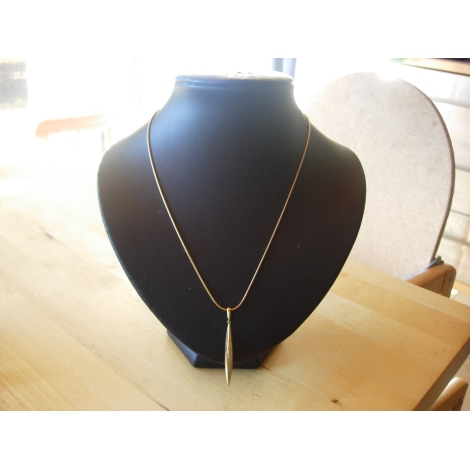 Ciondolo, collana con ciondoli TIFFANY & CO. Dorato, bronzo, rame