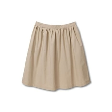 Jupe courte SOMEWHERE Beige, camel