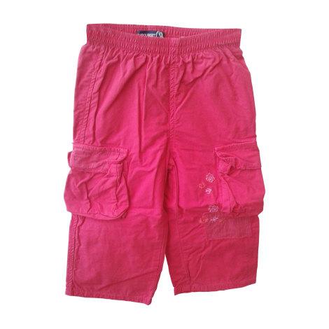 Pantalon JEAN BOURGET Rouge, bordeaux