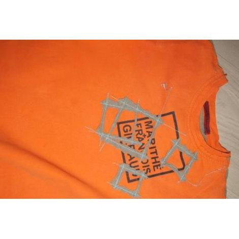 Tee-shirt MARITHÉ ET FRANÇOIS GIRBAUD Orange