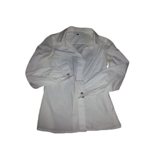 Chemisier MADEMOISELLE TARA BY TARA JARMON Blanc, blanc cassé, écru