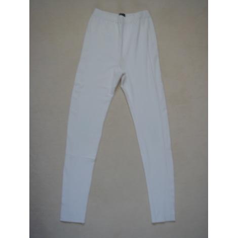 Pantalon UBAK Blanc, blanc cassé, écru