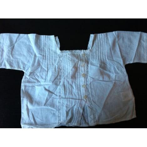 Chemise BONPOINT Blanc, blanc cassé, écru