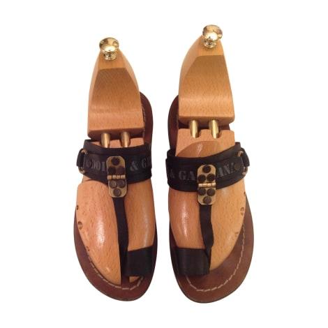 Sandales DOLCE & GABBANA Noir