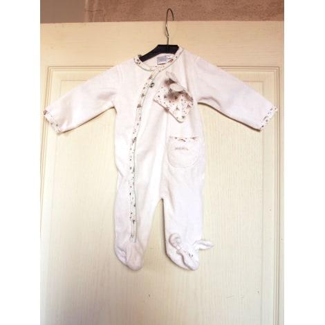 Grenouillère, babygros CADET ROUSSELLE Blanc, blanc cassé, écru