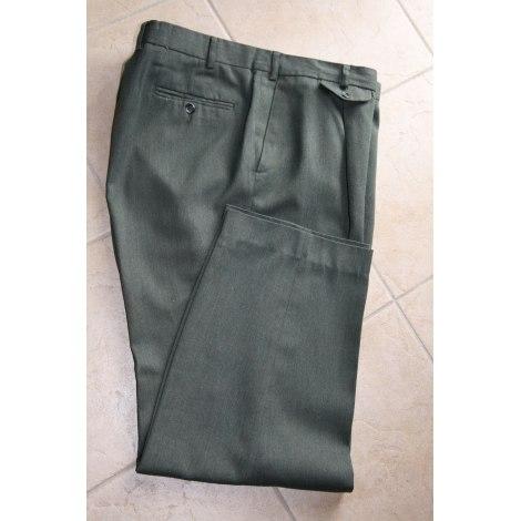Pantalon droit BRICE Vert