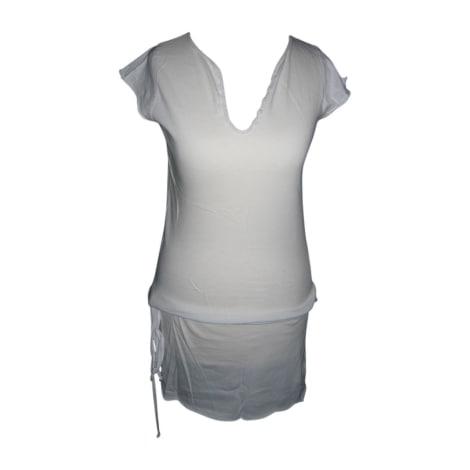 Robe tunique ZADIG & VOLTAIRE Blanc, blanc cassé, écru