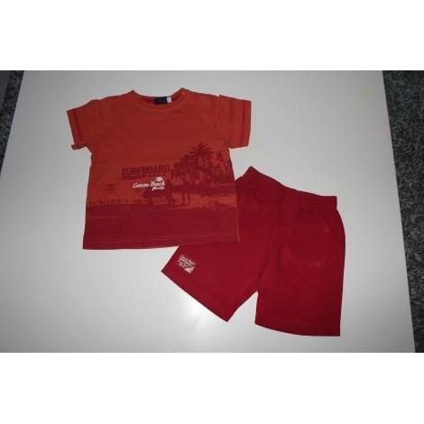 Shorts Set, Outfit SERGENT MAJOR Orange