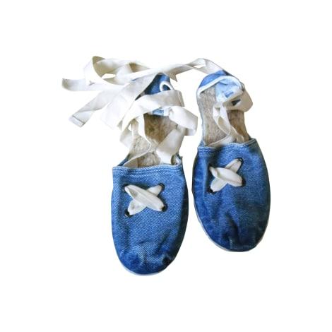 Espadrilles ZARA Bleu, bleu marine, bleu turquoise