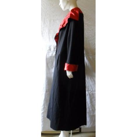 Manteau ZAPA noir et rouge