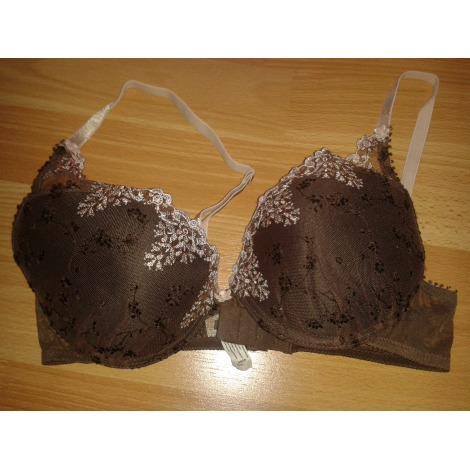 Soutien gorge push up PASSIONATA Marron