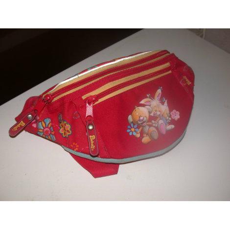 Bag DIDDL Red, burgundy
