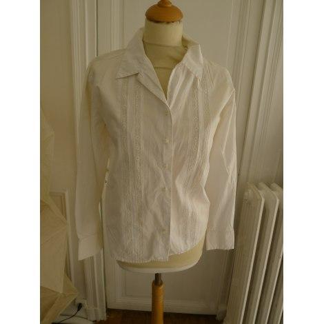 Chemise GAP Blanc, blanc cassé, écru