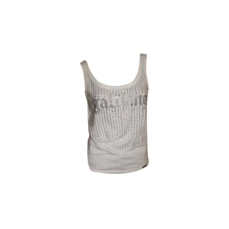 Top, tee-shirt JOHN GALLIANO Blanc, blanc cassé, écru