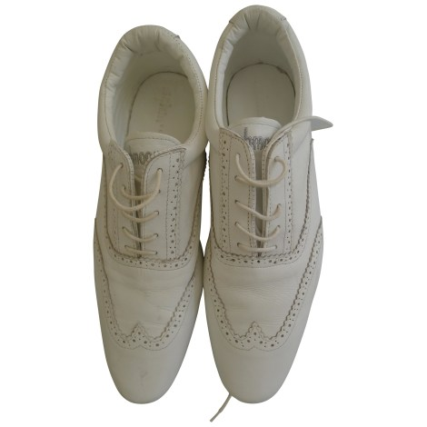 Lace Up Shoes SCHMOOVE White, off-white, ecru